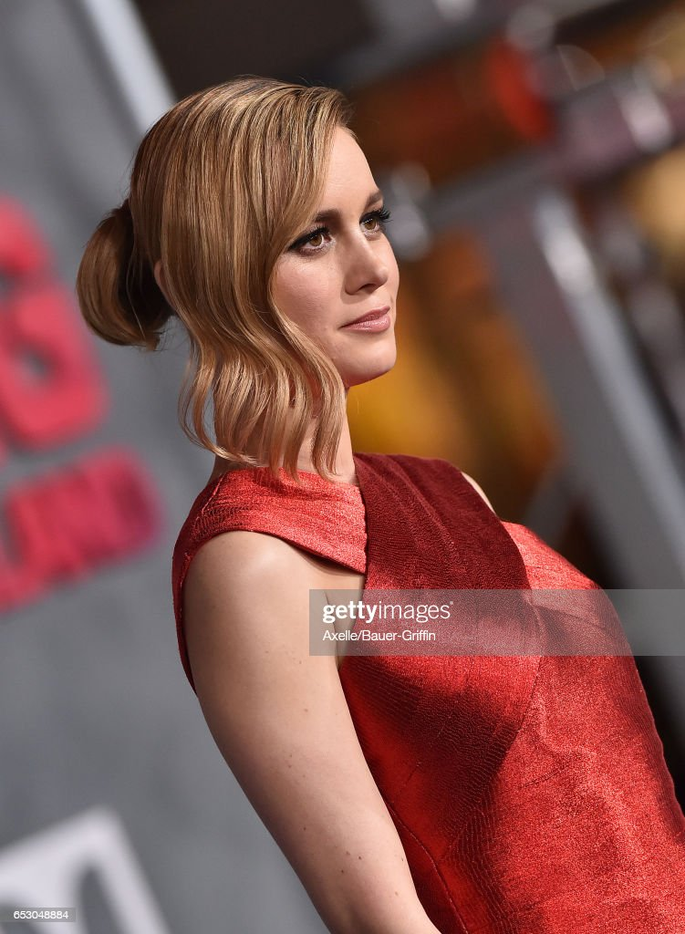 Actress Brie Larson arrives at the Los Angeles Premiere of 'Kong: Skull Island' at Dolby Theatre on March 8, 2017 in Hollywood, California.