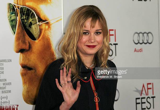Actress Brie Larson arrives at the Rampart special screening during AFI FEST 2011 presented by Audi at Grauman's Chinese Theatre on November 5 2011...