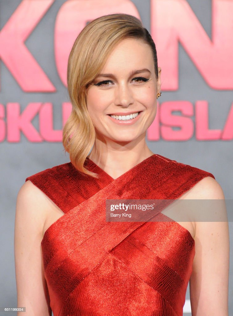 Actress Brie Larson arrives for the Premiere of Warner Bros. Pictures' 'Kong: Skull Island' at Dolby Theatre on March 8, 2017 in Hollywood, California.
