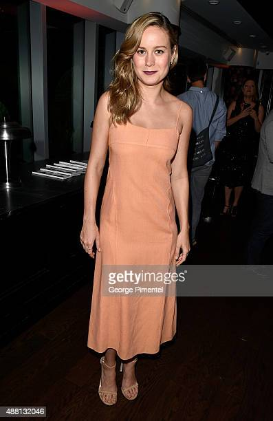 Actress Brie Larson at the Vanity Fair toast of Freeheld at TIFF 2015 presented by Hugo Boss and supported by JaegerLeCoultre at Montecito Restaurant...