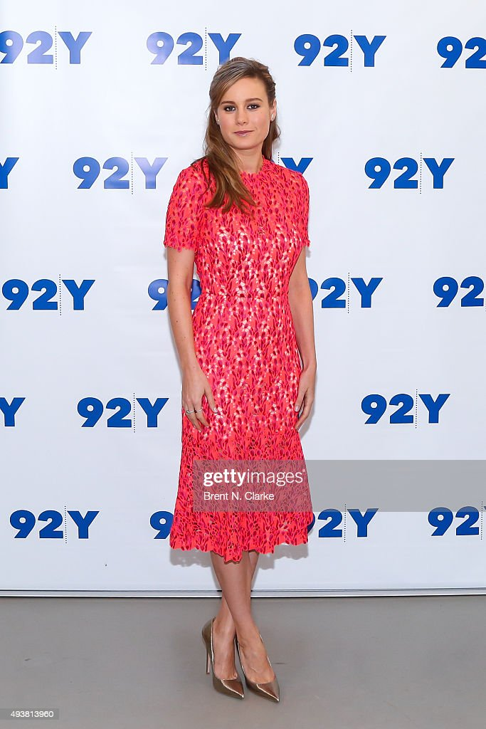 Actress Brie Larson attends 92nd Street Y Presents Brie Larson and 'Room' held at the 92nd Street Y on October 22, 2015 in New York City.