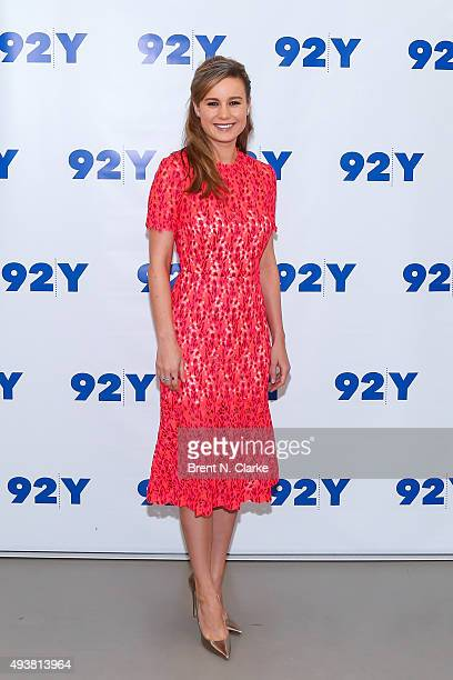 Actress Brie Larson attends 92nd Street Y Presents Brie Larson and 'Room' held at the 92nd Street Y on October 22 2015 in New York City