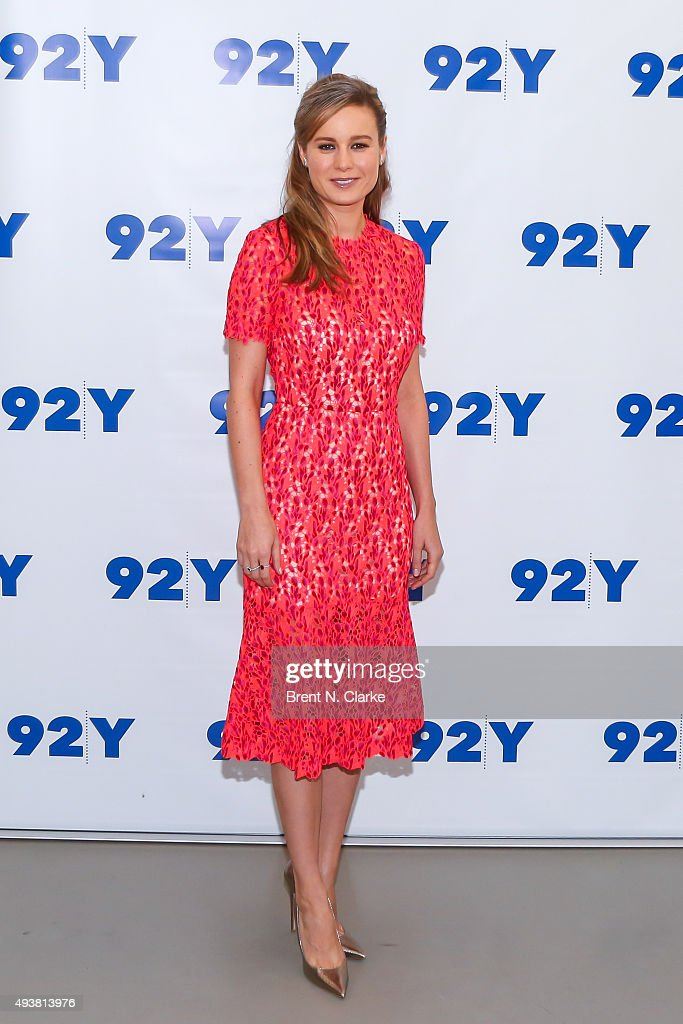 92nd Street Y Presents Brie Larson And 'Room' : News Photo