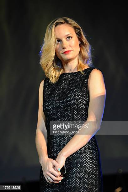 Actress Brie Larson attends a photocall during the 66th Locarno Film Festival on August 10, 2013 in Locarno, Switzerland.