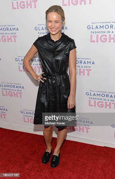 """Actress Brie Larson attends Glamorama """"Fashion in a New Light"""" benefiting AIDS Project Los Angeles presented by Macy's Passport at Orpheum Theatre on..."""