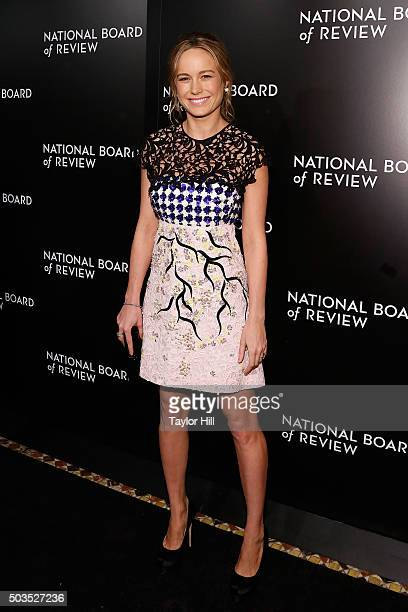Actress Brie Larson attends the 2015 National Board of Review Gala at Cipriani 42nd Street on January 5 2016 in New York City