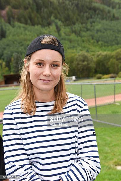 Actress Brie Larson attends the 2015 Telluride Film Festival on September 7 2015 in Telluride Colorado