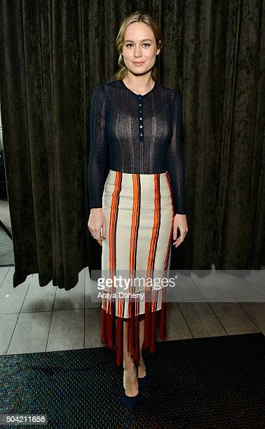 Actress Brie Larson attends the 2016 Film Independent Filmmaker Grant and Spirit Award Nominees Brunch at BOA Steakhouse on January 9 2016 in West...
