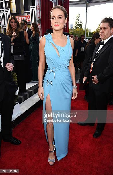 Actress Brie Larson attends The 22nd Annual Screen Actors Guild Awards at The Shrine Auditorium on January 30 2016 in Los Angeles California 25650_013