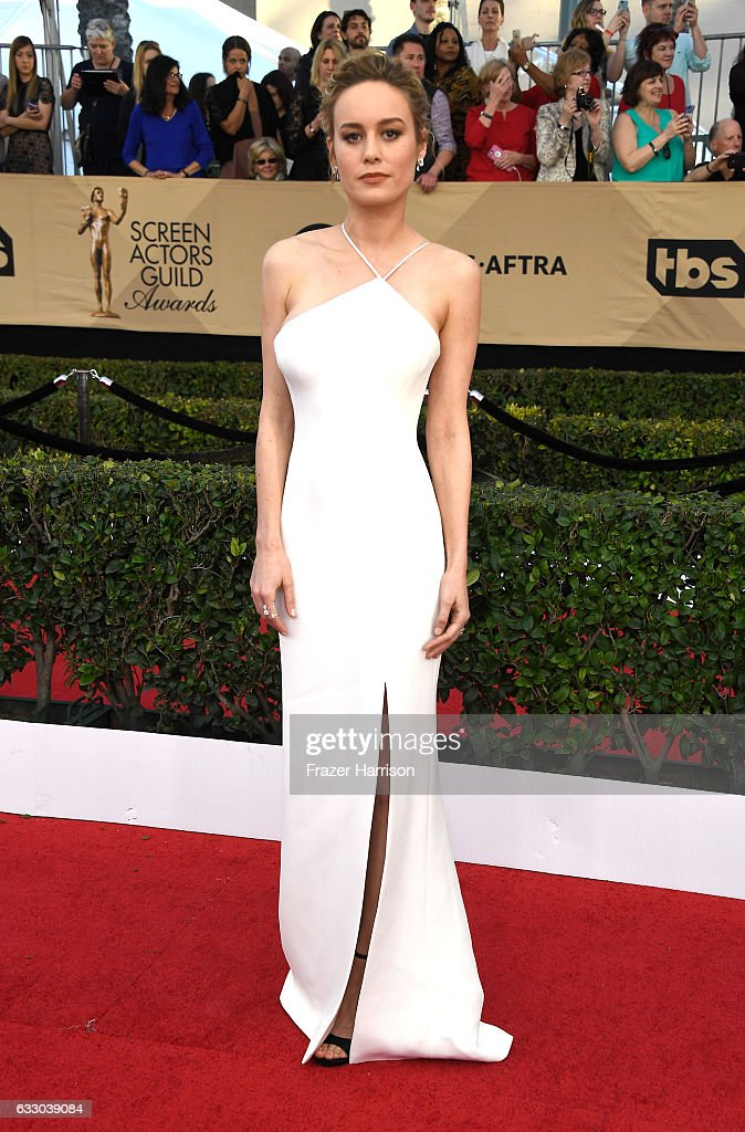 Actress Brie Larson attends The 23rd Annual Screen Actors Guild Awards at The Shrine Auditorium on January 29, 2017 in Los Angeles, California. 26592_008