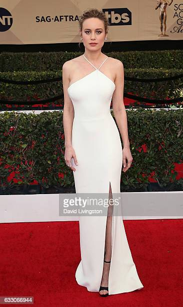 Actress Brie Larson attends the 23rd Annual Screen Actors Guild Awards at The Shrine Expo Hall on January 29 2017 in Los Angeles California