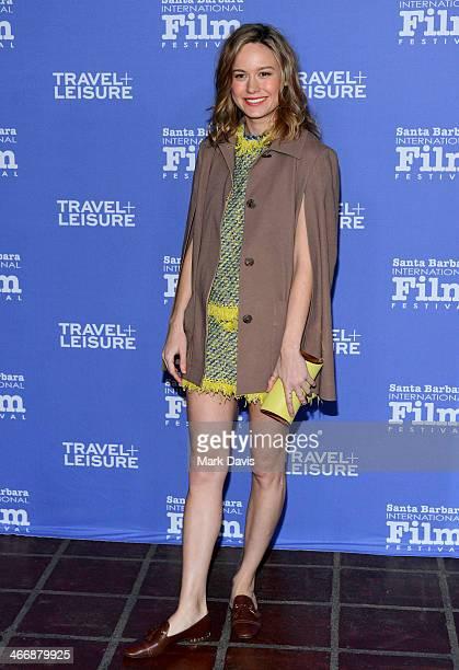 Actress Brie Larson attends the 29th Santa Barbara International Film Festival Virtuosos Award to Daniel Bruhl, Michael B. Jordan, Brie Larson, Jared...