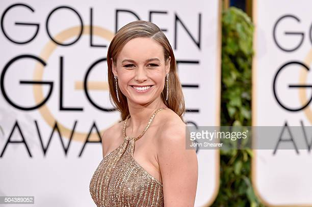 Actress Brie Larson attends the 73rd Annual Golden Globe Awards held at the Beverly Hilton Hotel on January 10 2016 in Beverly Hills California