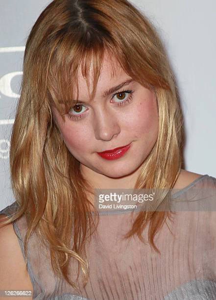Actress Brie Larson attends the 9th annual Teen Vogue's Young Hollywood party at Paramount Studios on September 23 2011 in Los Angeles California