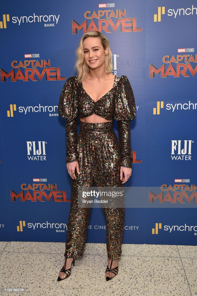 FIJI Water With The Cinema Society Host A Special Screening Of 'Captain Marvel'