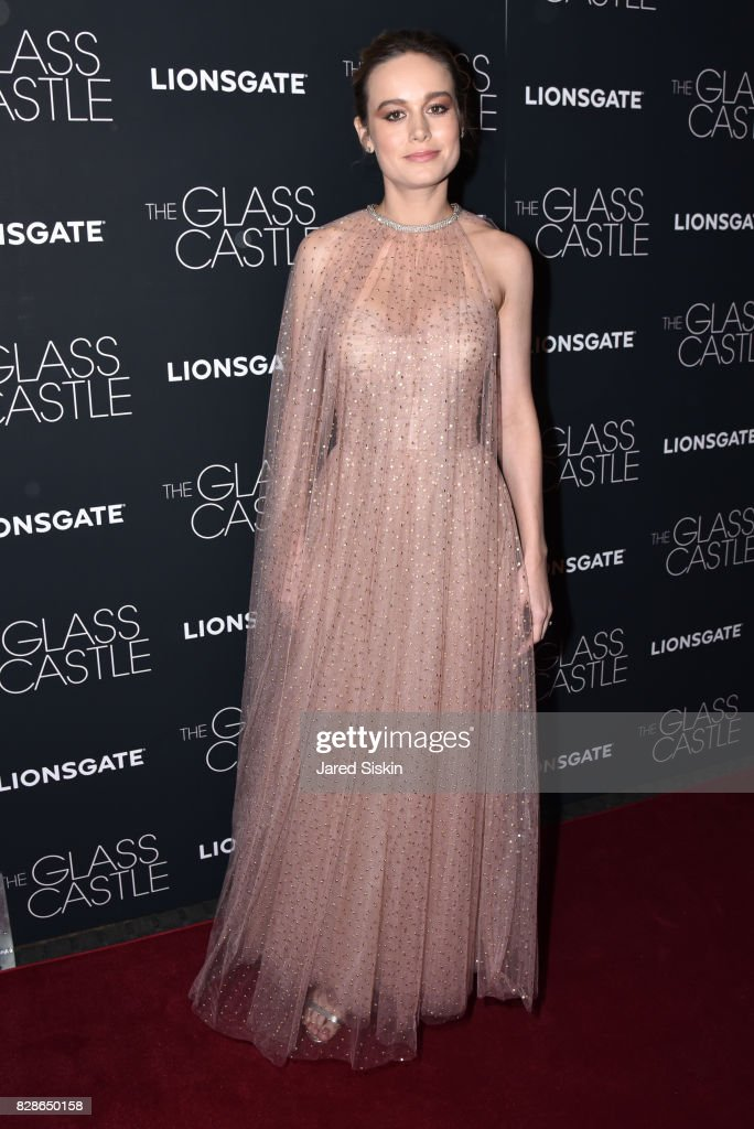 Actress Brie Larson attends 'The Glass Castle' New York Screening at SVA Theatre on August 9, 2017 in New York City.
