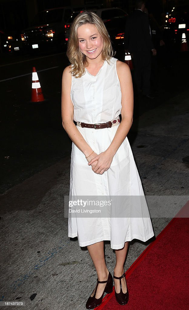 Actress Brie Larson attends the Los Angeles Times Young Hollywood Roundtable at AFI FEST 2013 presented by Audi at the TCL Chinese Theatre on November 8, 2013 in Hollywood, California.
