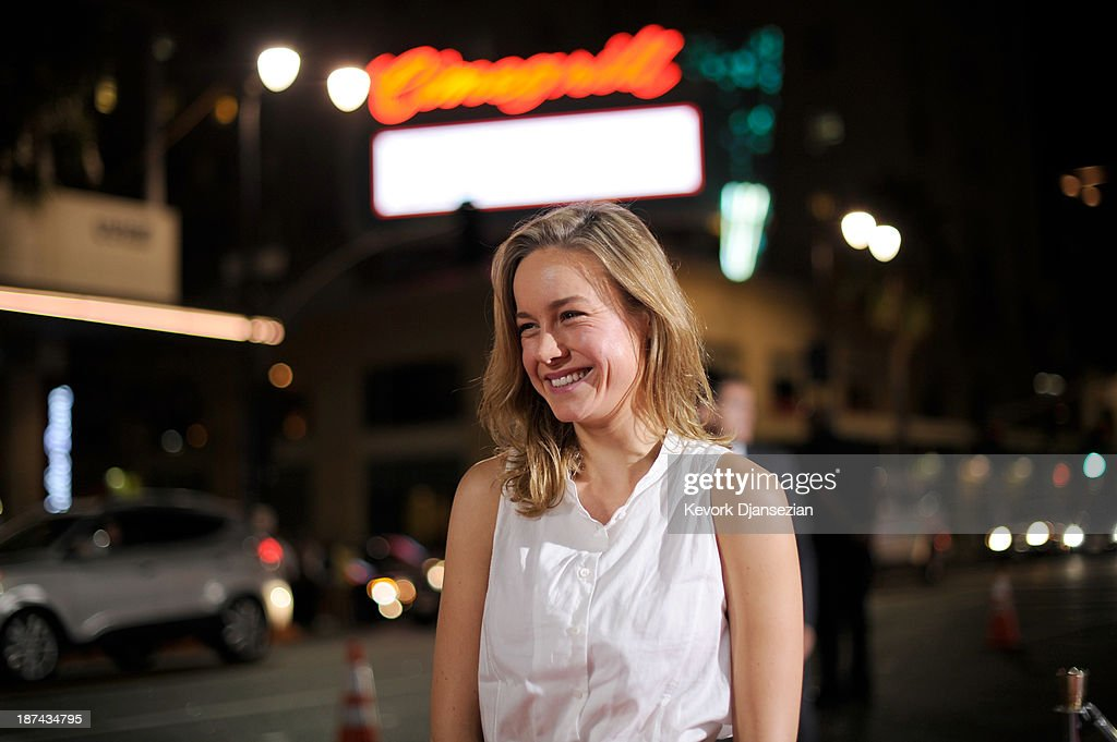 Actress Brie Larson attends The Los Angeles Times Young Hollywood Roundtable during AFI FEST 2013 presented by Audi at TCL Chinese Theatre on November 8, 2013 in Hollywood, California.