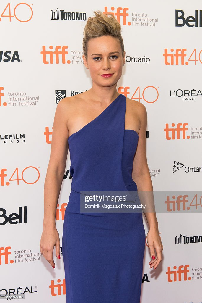 Actress Brie Larson attends the 'Room' premiere during the 2015 Toronto International Film Festival at the Princess of Wales Theatre on September 15, 2015 in Toronto, Canada.