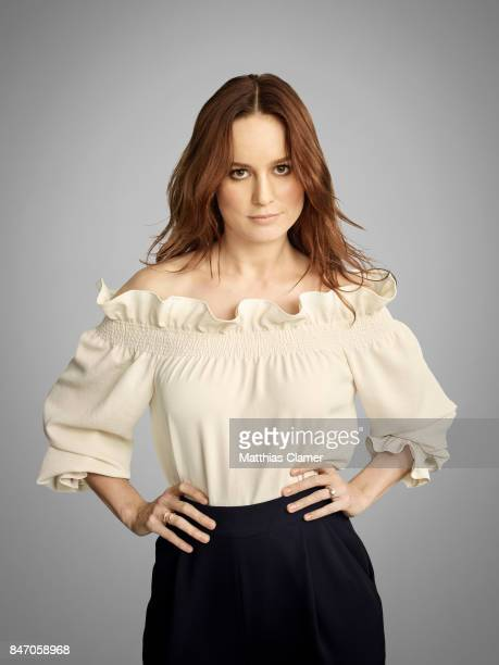 Actress Brie Larson from 'Kong Skull Island' is photographed for Entertainment Weekly Magazine on July 23 2016 at Comic Con in the Hard Rock Hotel in...