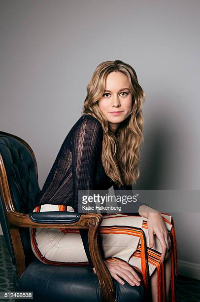 Actress Brie Larson is photographed for Los Angeles Times on January 9 2016 in Los Angeles California PUBLISHED IMAGE CREDIT MUST READ Katie...