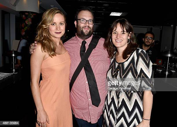Actress Brie Larson Joe Reid and guest attend the Vanity Fair toast of 'Freeheld' at TIFF 2015 presented by Hugo Boss and supported by...