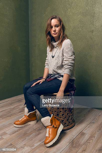 Actress Brie Larson of 'Digging for Fire' poses for a portrait at the Village at the Lift Presented by McDonald's McCafe during the 2015 Sundance...