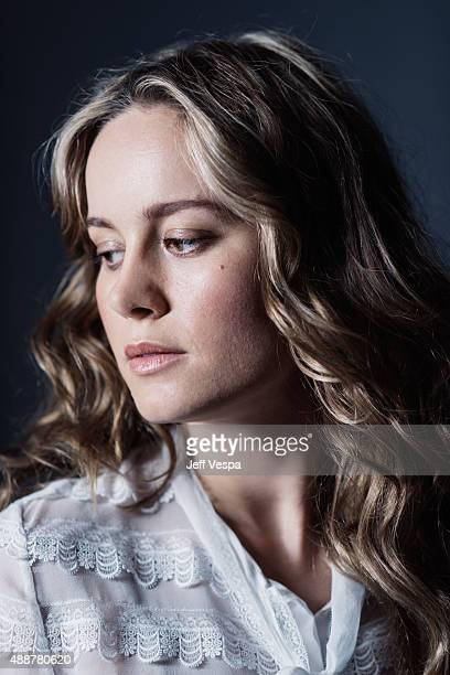 Actress Brie Larson of 'Room' poses for a portrait at the 2015 Toronto Film Festival at the TIFF Bell Lightbox on September 14 2015 in Toronto Ontario