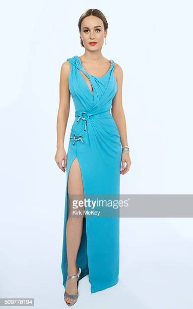 Actress Brie Larson poses for a portraits at the 22st Annual Screen Actors Guild Awards for Los Angeles Times on January 30 2016 in Los Angeles...
