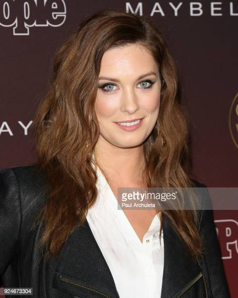 Actress Briga Heelan attends People's 'Ones To Watch' party at NeueHouse Hollywood on October 4 2017 in Los Angeles California