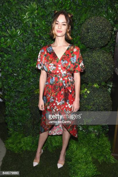 Actress Brigette LundyPaine attends Alice Olivia By Stacey Bendet fashion show during September 2017 New York Fashion Week The Shows at Gallery 2...