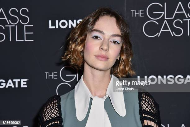 Actress Brigette LundyPaine attends The Glass Castle New York Screening at SVA Theatre on August 9 2017 in New York City