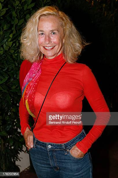 Actress Brigitte Fossey attends 'Le Roi se meurt' on the last day of the 29th Ramatuelle Festival on August 11 2013 in Ramatuelle France