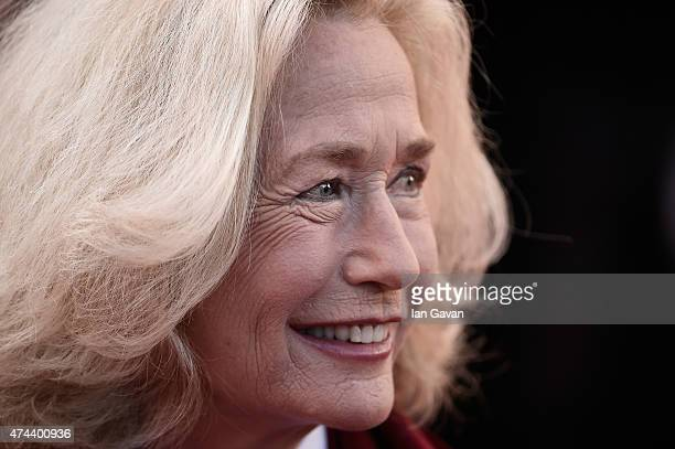 Actress Brigitte Fossey attends the Little Prince Premiere during the 68th annual Cannes Film Festival on May 22 2015 in Cannes France