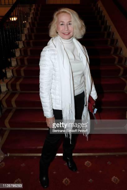 Actress Brigitte Fossey attends the Michele Bernier One Woman Show Vive Demain at Theatre des Varietes on January 28 2019 in Paris France