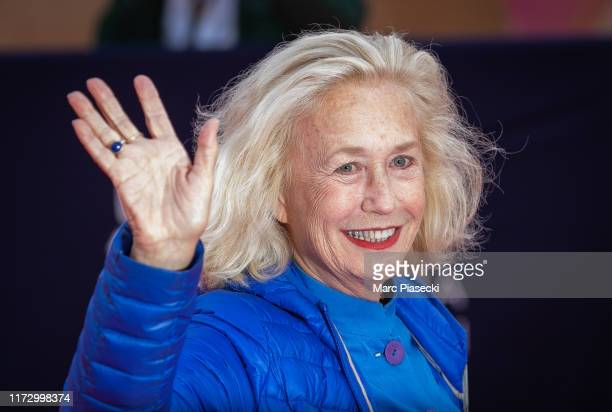 Actress Brigitte Fossey attends the Tribute to the 25 Years Of Competition during the 45th Deauville American Film Festival on September 07 2019 in...
