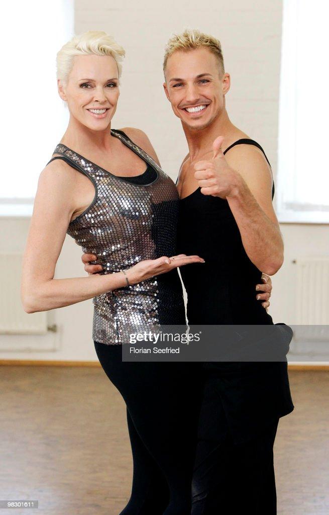 Let's Dance Training Brigitte Nielsen