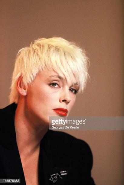 Actress Brigitte Nielsen in 1989 ca. In London, England.