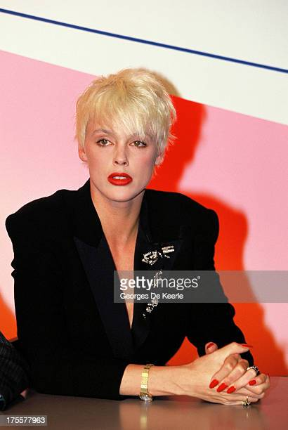 Actress Brigitte Nielsen in 1989 ca in London England