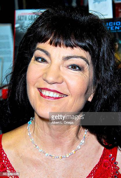 Actress Brinke Stevens at the Second Annual David DeCoteau's Day Of The Scream Queens held at Dark Delicacies Bookstore on January 25, 2015 in...
