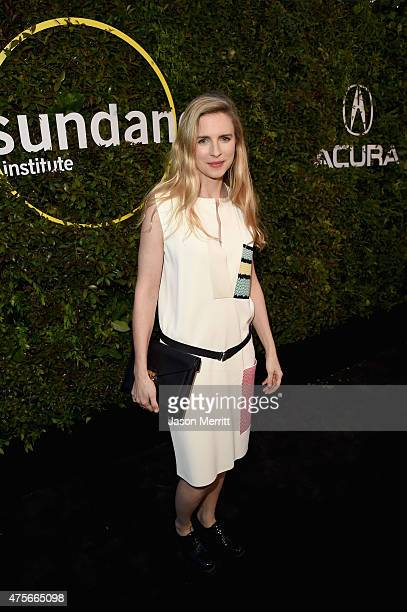 Actress Brit Marling attends the 2015 Sundance Institute Celebration Benefit at 3LABS on June 2 2015 in Culver City California