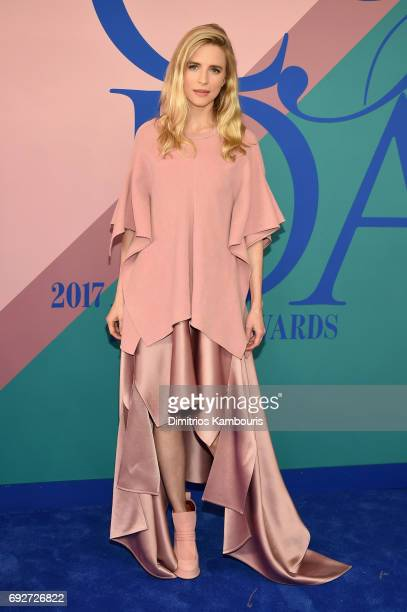 Actress Brit Marling attends the 2017 CFDA Fashion Awards at Hammerstein Ballroom on June 5 2017 in New York City