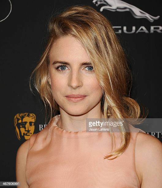 Actress Brit Marling attends the BAFTA LA 2014 awards season tea party at Four Seasons Hotel Los Angeles at Beverly Hills on January 11 2014 in...