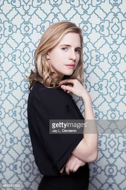 Actress Brit Marling is photographed for Los Angeles Times on January 18 2014 in Park City Utah PUBLISHED IMAGE CREDIT MUST READ Jay L Clendenin/Los...