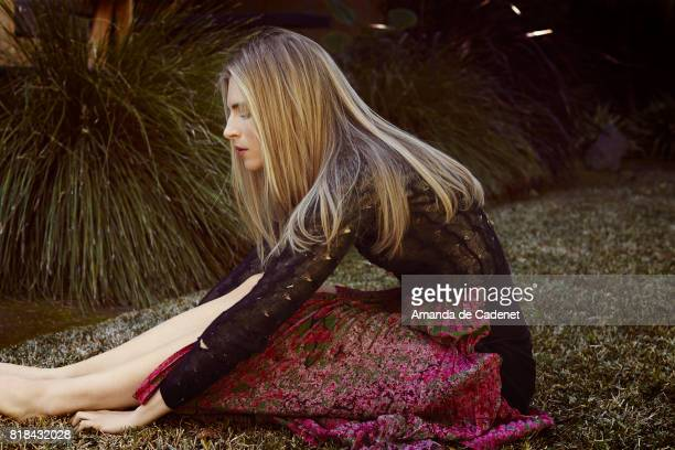 Actress Brit Marling is photographed for Violet Grey Magazine on January 13 2014 in Los Angeles California