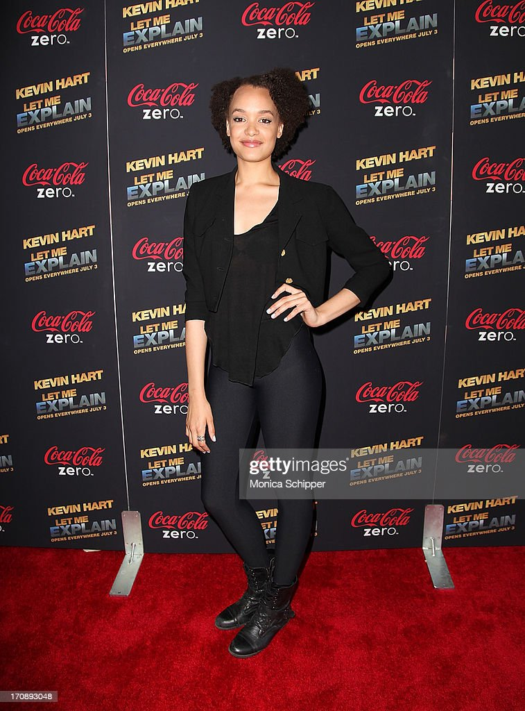 Actress Britne Oldford attends the 'Kevin Hart:Let Me Explain' premiere at Regal Cinemas Union Square on June 19, 2013 in New York City.