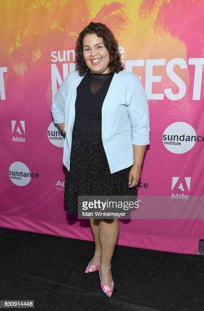 Actress Britney Young attends 2017 Sundance NEXT FEST at The Theater at The Ace Hotel on August 12 2017 in Los Angeles California