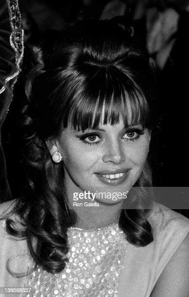 Actress Britt Ekland attends the premiere party for 'Camelot' on October 25 1967 at the Americana Hotel in New York City