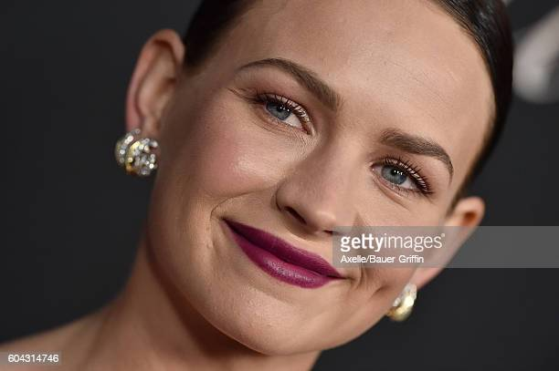 Actress Britt Robertson arrives at the premiere of Cinelou Releasing's 'Mr Church' at ArcLight Hollywood on September 6 2016 in Hollywood California