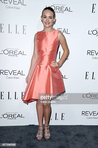 Actress Britt Robertson attends the 2014 ELLE Women In Hollywood Awards at the Four Seasons Hotel on October 20 2014 in Beverly Hills California
